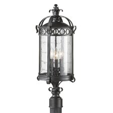 Chancellor 3 Light Outdoor Post Lantern