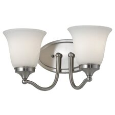 Beckett 2 Light Bath Vanity Light