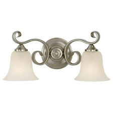 Vista 2 Light Bath Vanity Light