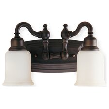 <strong>Feiss</strong> Canterbury 2 Light Bath Vanity Light