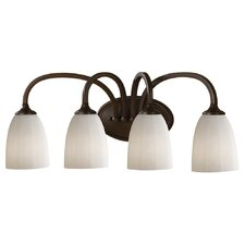 Perry 4 Light Bath Vanity Light