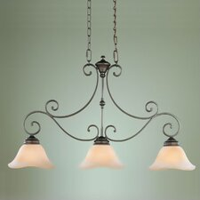 Tuscan Villa 3 Light Kitchen Island Pendant Pendant