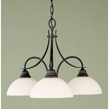 Boulevard 3 Light Chandelier