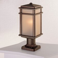 Mission Lodge 1 Light Post Lantern
