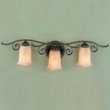 Tuscan Villa 3 Light Vanity Light
