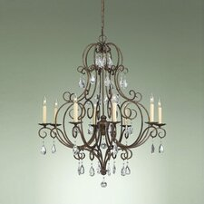 <strong>Feiss</strong> Chateau 8 Light Chandelier