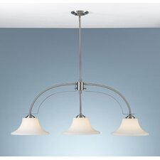 <strong>Feiss</strong> Barrington 3 Light Kitchen Island Pendant