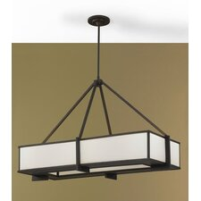 <strong>Feiss</strong> Stelle 6 Light Kitchen Island Pendant