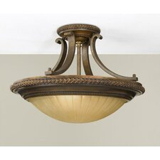 <strong>Feiss</strong> Kelham Hall Semi Flush Mount