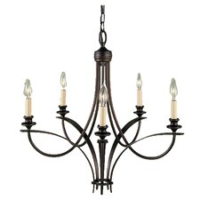 <strong>Feiss</strong> .4Boulevard 5 Light Chandelier