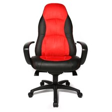 "Chefsessel ""Speed Chair"" in Rot / Schwarz"