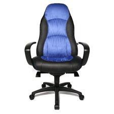 "Chefsessel ""Speed Chair"" in Blau / Schwarz"