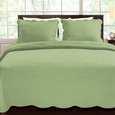 <strong>Greenland Home Fashions</strong> Serenity Quilt Set