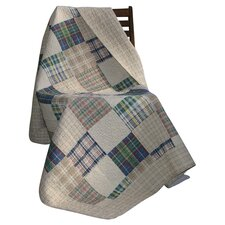<strong>Greenland Home Fashions</strong> Oxford Cotton Throw