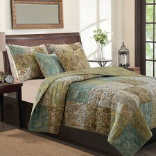 <strong>Greenland Home Fashions</strong> Vintage Paisley Cotton Throw