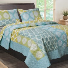 Avalon 3 Piece Quilt Set