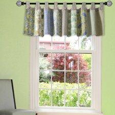 "Vintage Jade Patchwork 84"" Curtain Valance"