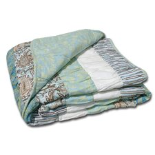 Paradise Ruched Cotton Throw