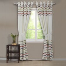 Bella Ruffle Curtain Panel Pair (Set of 2)