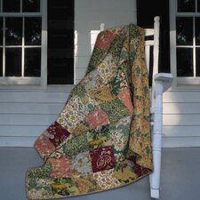 Antique Chic Cotton Throw