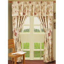 <strong>Greenland Home Fashions</strong> Antique Rose Window Treatment Collection