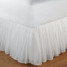 "<strong>Greenland Home Fashions</strong> Cotton Voile Bedskirt 18"" Drop"