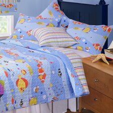 Aquarius Quilt Set