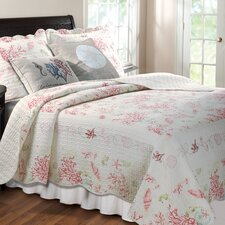 <strong>Greenland Home Fashions</strong> Coral Quilt Collection