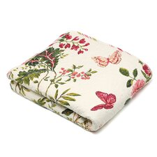 <strong>Greenland Home Fashions</strong> Butterfly Quilted Cotton Throw