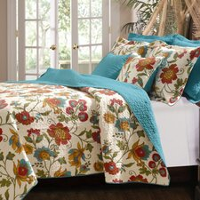 <strong>Greenland Home Fashions</strong> Clearwater Quilt Set