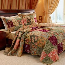 <strong>Greenland Home Fashions</strong> Antique Chic Quilt Collection