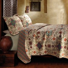 <strong>Greenland Home Fashions</strong> Esprit Spice Quilt Collection