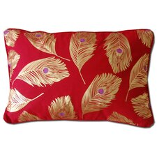 Jewel Feather Decorative Pillow