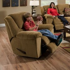 Transformer Chenille Chaise Recliner