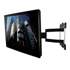 Ventry Ultra-Slim Double Arm Flat Screen Wall Mount