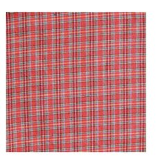 Red Plaid and Green Black Lines Napkin (Set of 4)