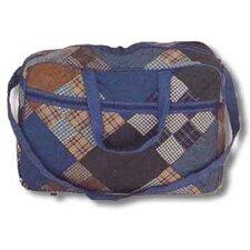 Chambray Nine Patch Shoulder Bag