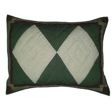 <strong>Patch Magic</strong> Bear Trail Patch Work Pillow Sham