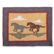 Shadow Rider Pillow Sham