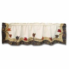 "Autumn Leaves 54"" Curtain Valance"