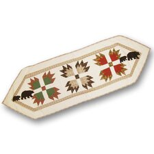 Bear's Paw Table Runner