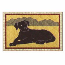 Black Lab Placemat (Set of 4)