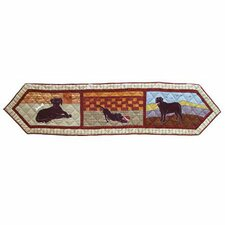 Black Lab Table Runner