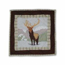 Brown Elk Toss Pillow