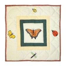 Bug Garden Toss Pillow