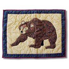 Cabin Bear Pillow Sham