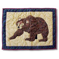 <strong>Patch Magic</strong> Cabin Bear Standard Pillow Sham