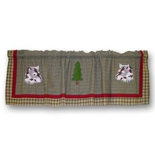 <strong>Patch Magic</strong> Call of The Wild Cotton Curtain Valance