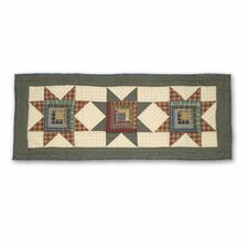 Cottage Star Table Runner