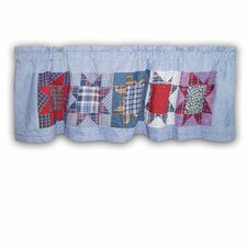 "Denim Burst 54"" Curtain Valance"